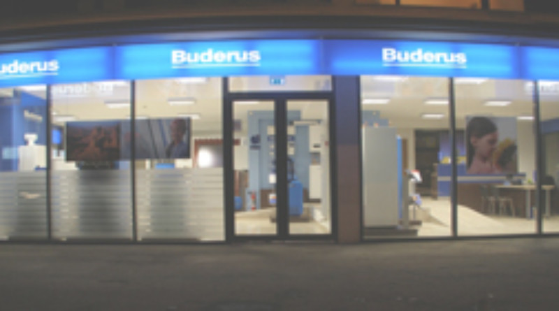 foto showroom Buderus