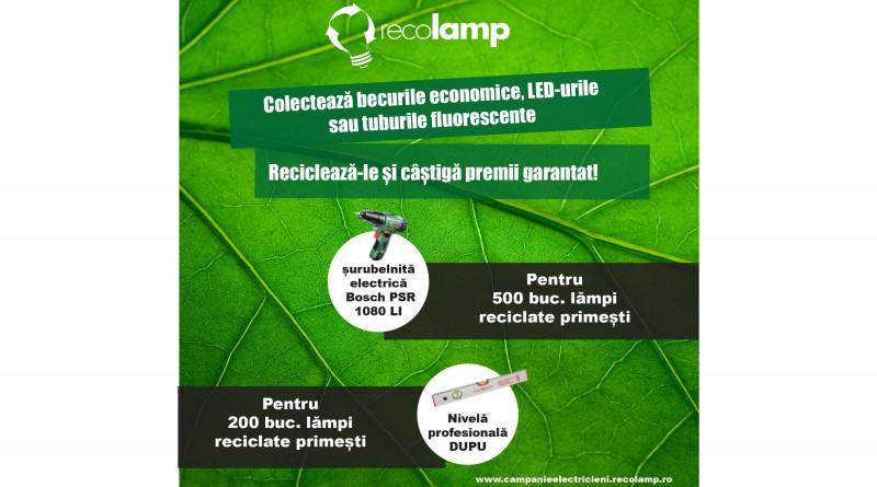 CAMPANIE CU PREMII ORGANIZATA DE RECOLAMP