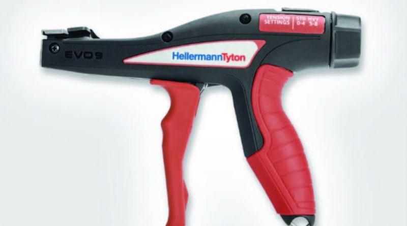 HellermannTyton prezinta: EVO9 pistolul de aplicat coliere al viitorului este disponibil acum