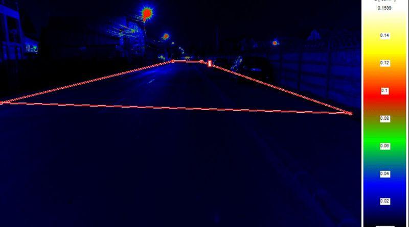 Măsurare a luminanței la punerea in funcțiune conform EN13201 (măsurări cu camera CCD), autor: S Matei, Prof Dr. Eng.-Laborator Fotometrie si Compatibilitate Electromagnetica SA