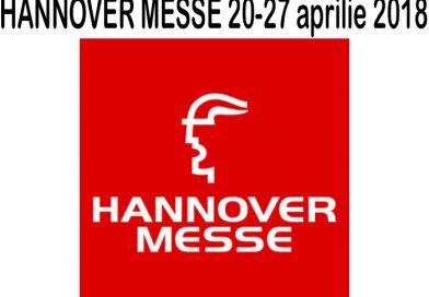 HANNOVER MESSE 20-27 aprilie 2018