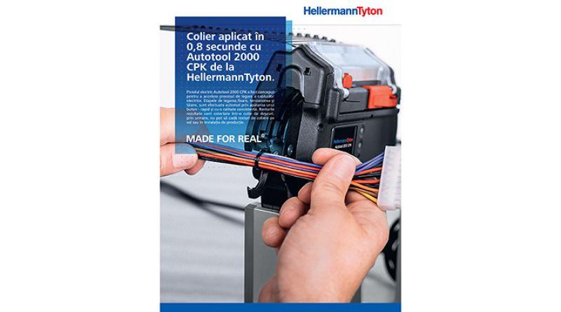 Coliere pentru cabluri aplicate în 0,8 secunde !