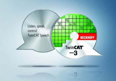 """Software-ul TwinCAT Speech: posibilitățile de redare a comenzilor/datelor vocale simplifică modul de funcționare și mentenanța într-o fabrică """"TwinCAT, începe trasarea!"""""""