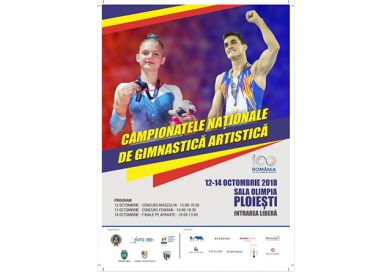 Axis: Campionatul Național de Gimnastică Artistică este transmis live
