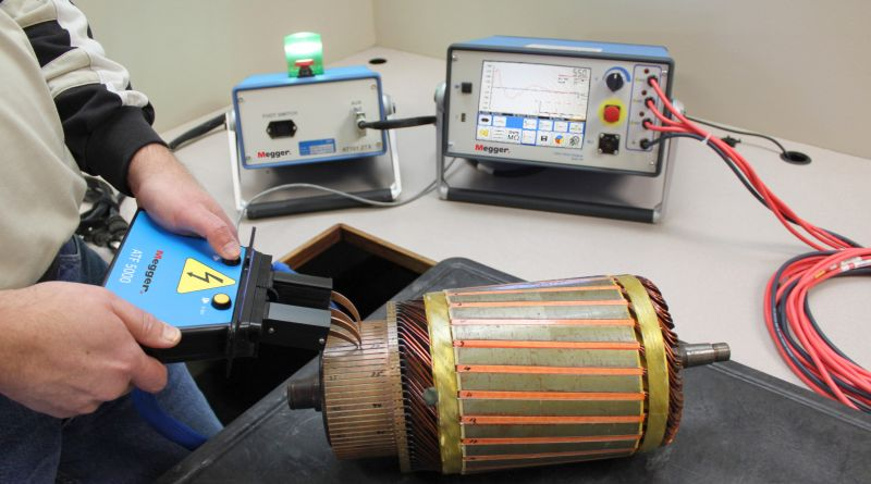 Megger – testarea mașinilor electrice rotative