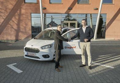 Legrand a anunțat câștigătorul mașinii Ford Tourneo Courier, Marele Premiu al campaniei Cursa Campionilor