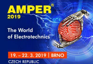AMPER Brno, Cehia, 19 – 22 martie 2019. Târg internațional de electrotehnică și electronică