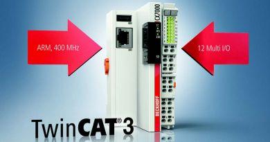 Automatul programabil compact compatibil TwinCAT 3 crește în continuare scalabilitatea controlului bazat pe PC