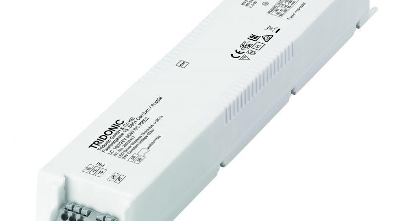 TRIDONIC: Controlul iluminatului prin modul wireless dimabil integrat direct în driver