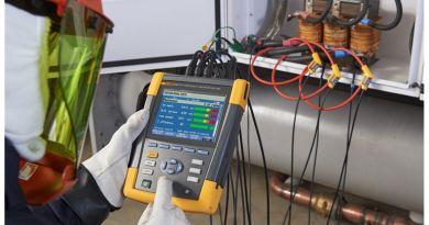 ARC prezintă: Analizor de motoare şi de calitate a energiei electrice FLUKE 438 II