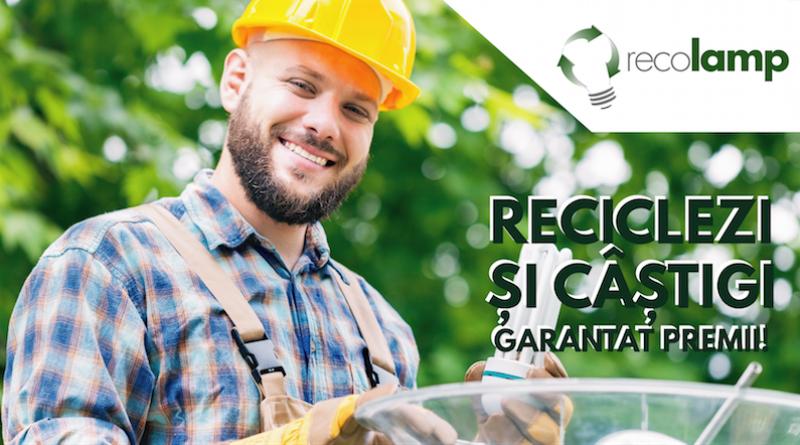RECOLAMP derulează și în 2019 o campanie de reciclare a becurilor arse  dedicată  electricienilor