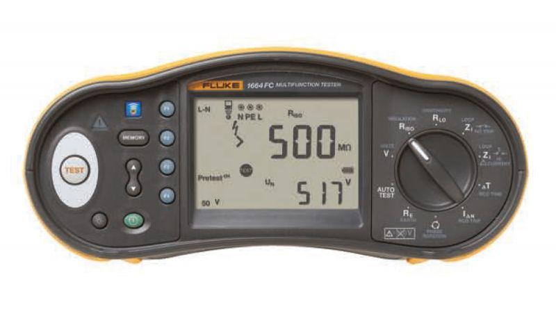 Testere multifuncționale pentru instalații electrice de joasă tensiune seria FLUKE 1660
