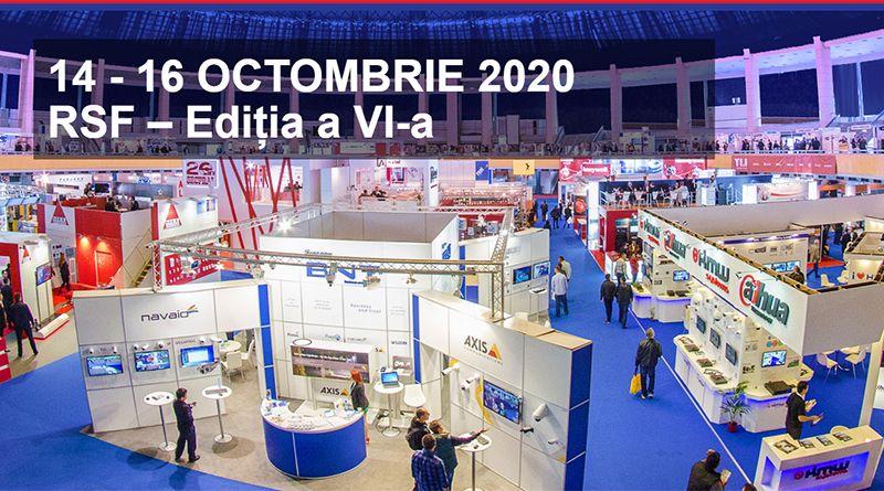 Romanian Security Fair- 14-16 octombrie 2020