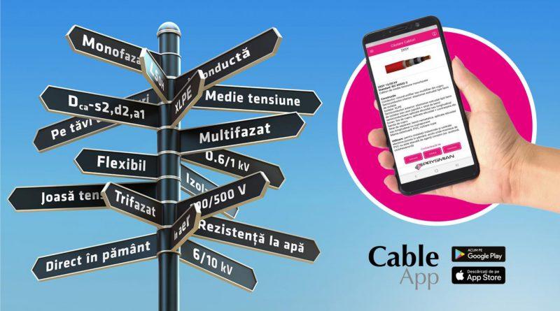Prysmian lansează aplicația Cable App în România