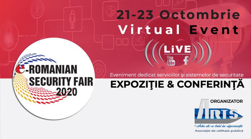 e-ROMANIAN SECURITY FAIR 21-23 octombrie 2020