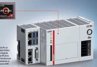 Beckhoff Industrial PC CX20x3: serie de PC integrat cu procesoare AMD