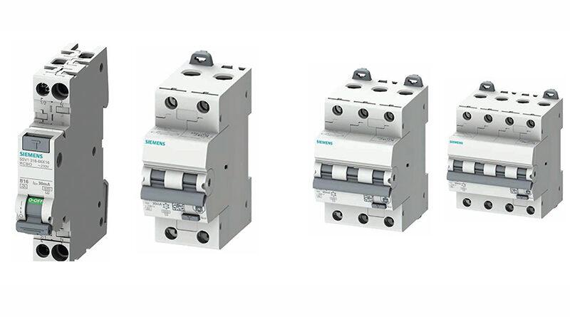 Noi întreruptoare automate cu protecție diferențială SIEMENS 5SU