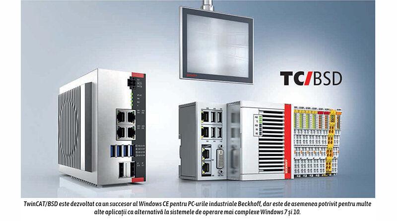 TwinCAT/BSD: Noul sistem de operare pentru PC-uri industriale Beckhoff