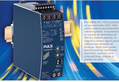PULS: Controller nou UPS c.c pentru fiabilitate și flexibilitate maxime