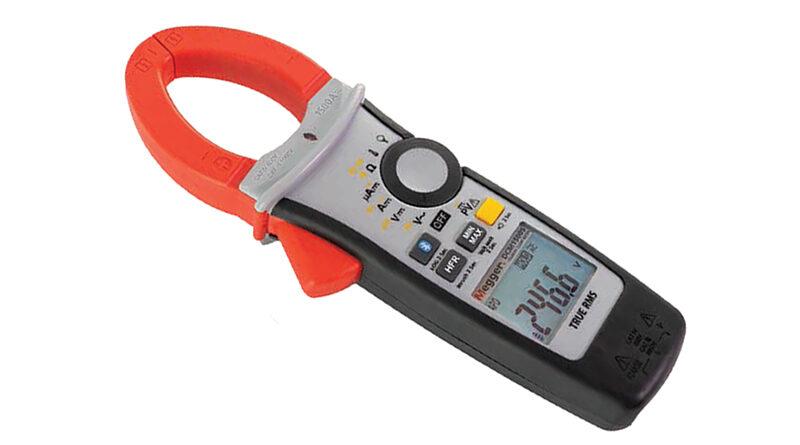 MEGGER DCM1500S – clampmetru digital pentru sisteme fotovoltaice