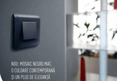Noua gamă de aparataj electric MOSAIC de la Legrand