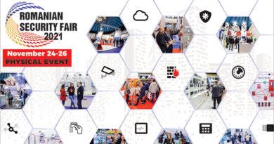 Romanian Security Fair-RSF 2021 se va desfășura între 24-26 noiembrie 2021