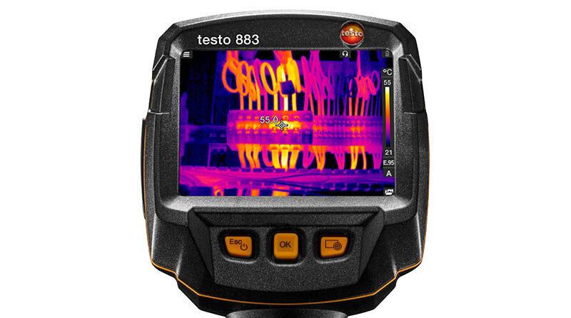 Mentenanță predictivă și eficiență cu camera în infraroșu TESTO 883
