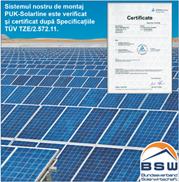 certificat dupa specificatii TUV
