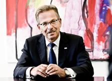 foto Franz Fehrenbach, președintele Consiliului de administrație al companiei Bosch