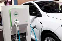 foto electric vehicle schneider electric