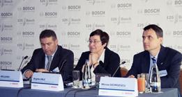 foto Adrian Balsanu, Brigitte Eble, Mircea Georgescu