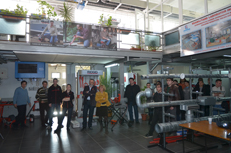 foto Laborator al Universitatii de Petrol si Gaze