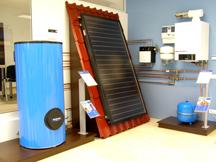 buderus inaugureaz primul showroom propriu din rom nia electricianul. Black Bedroom Furniture Sets. Home Design Ideas