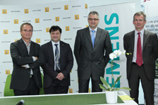 Fabrice Cambolive (Renault), Cristian Secosan (Siemens), Sorin Buse (Renault), Jerome Olive (Renault)