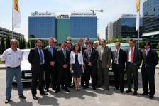 Poza de grup - echipa Renault, Siemens, Schneider Electric