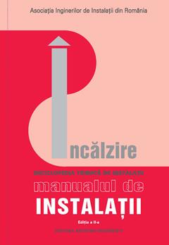 Coperta volum Incalzire Manual de Instalatii in Constructii ed. II