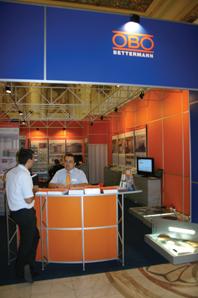 Stand OBO Bettermann la IEAS 2012
