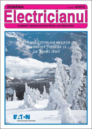 revista Electricianul nr.8/2012