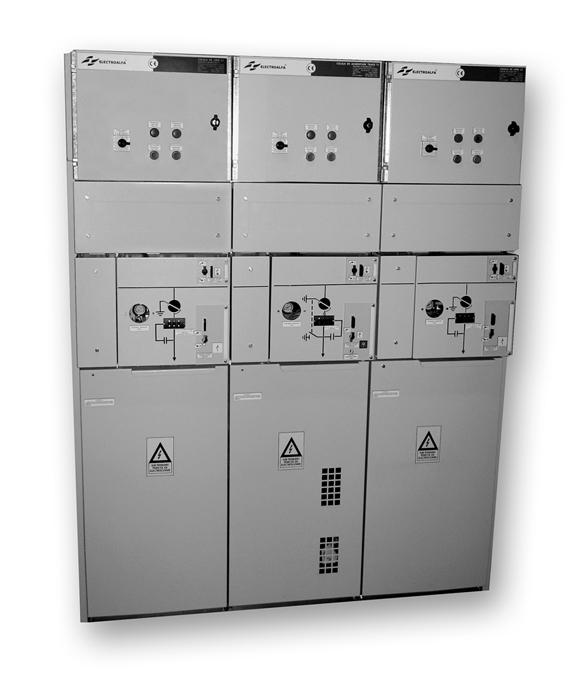 Celule electrice de medie tensiune, în carcasa metalica