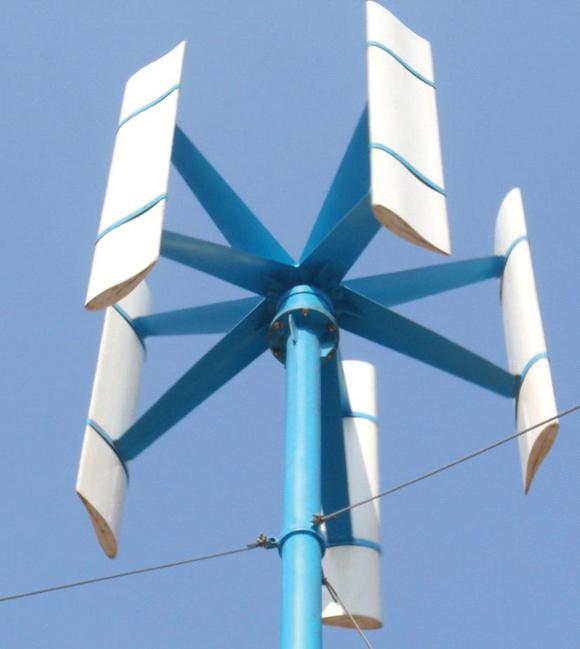 turbina eoliana cu ax vertical