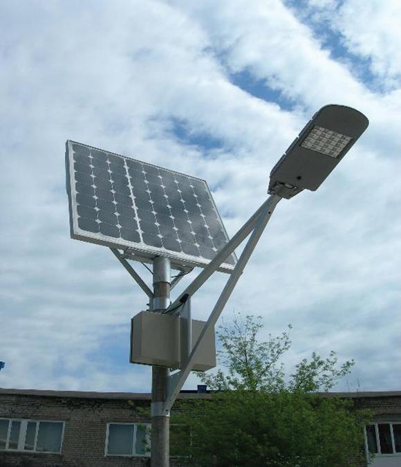lampa solara cu led pentru iluminat public